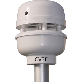 Ultrasonic wind sensor