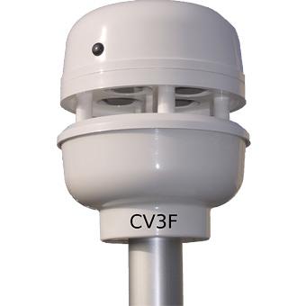 Ultrasonic wind sensor