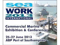 Visit us at the Seawork International Exhibition