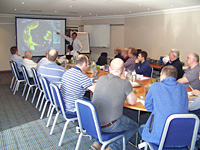 Mantsbrite hosts Koden Dealer Training Course