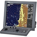 "Koden MDC-7900 19"" Radar with Chart Overlay"